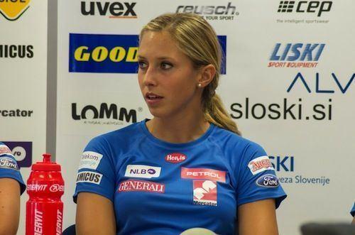 Ana Bucik Ana Bucik vince anche il secondo Slalom di Zinal Gare FIS e Coppa