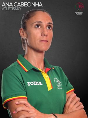 Ana Cabecinha Ana Isabel Vermelhudo Cabecinha Comit Olmpico Portugal