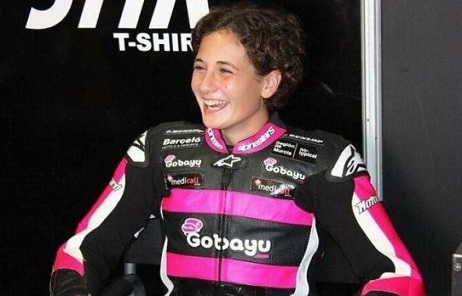 Ana Carrasco Ana Carrasco prima donna del Moto3 Repubblicait