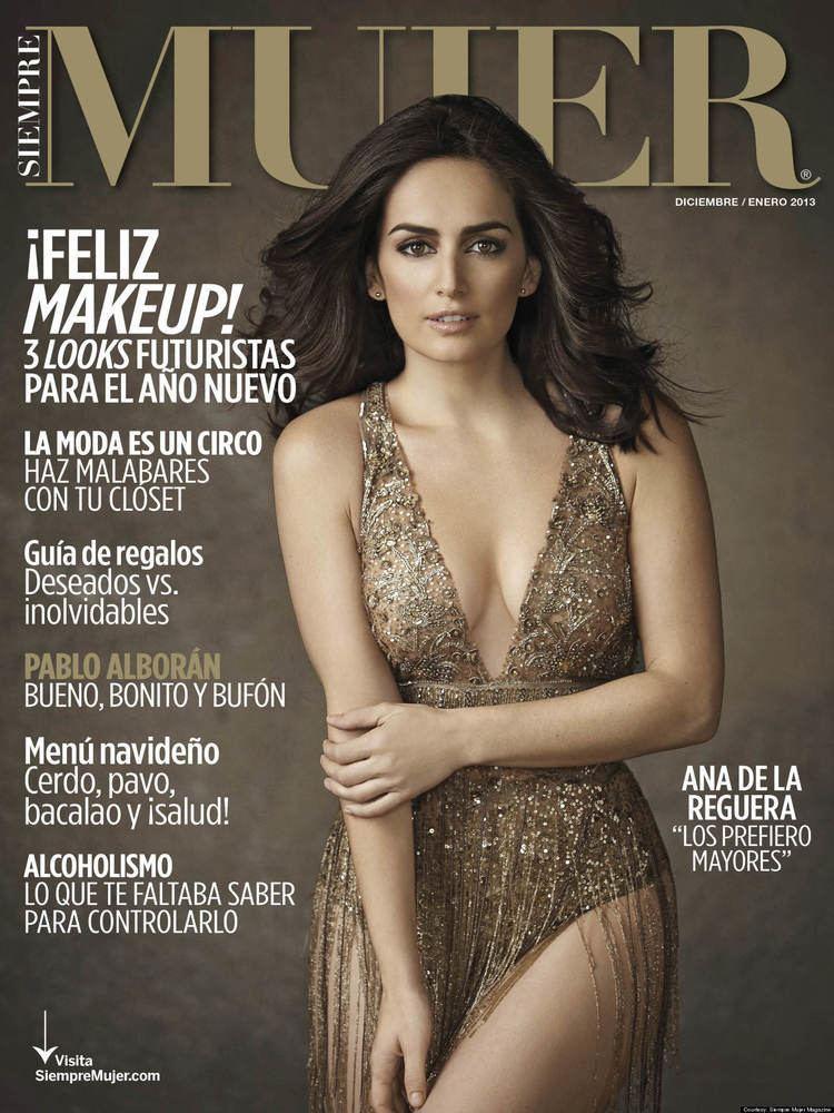 Ana de la Reguera Ana De La Reguera Confesses Her Craziness On The Cover Of