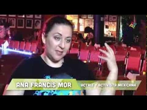 Ana Francis Mor El viaje de los mexicanos ENTREVISTA A ANA FRANCIS MOR Destinos