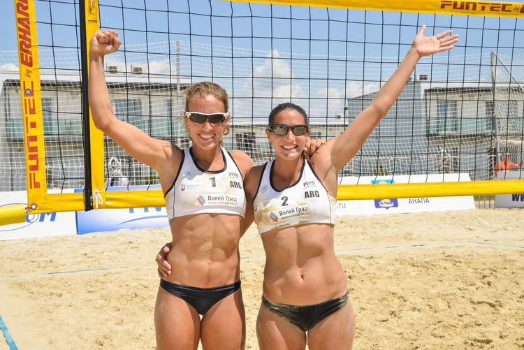 Ana Gallay Argentina39s Gallay and Klug fight their way to the top
