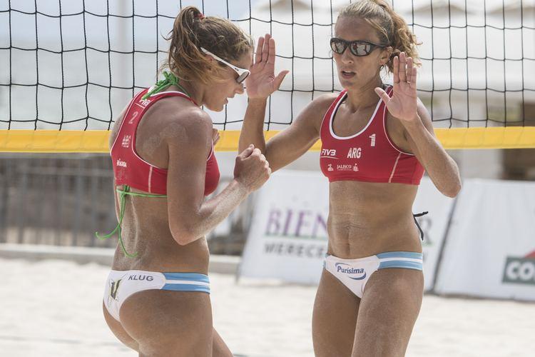 Ana Gallay Referee course ignited Gallay beach volleyball involvement