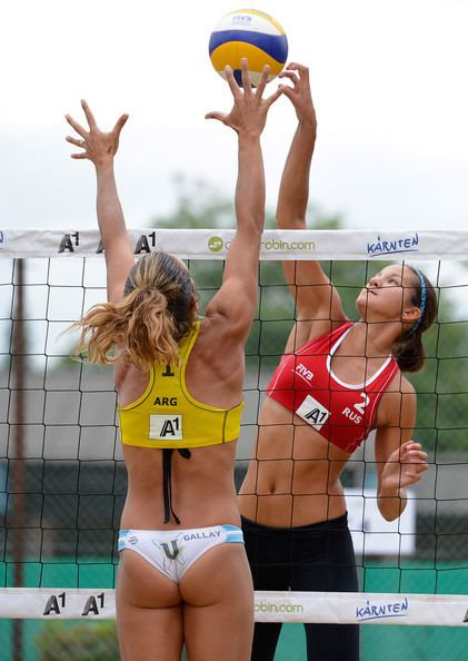 Ana Gallay Ana Gallay Pictures FIVB Klagenfurt A1 Grand Slam Day 3