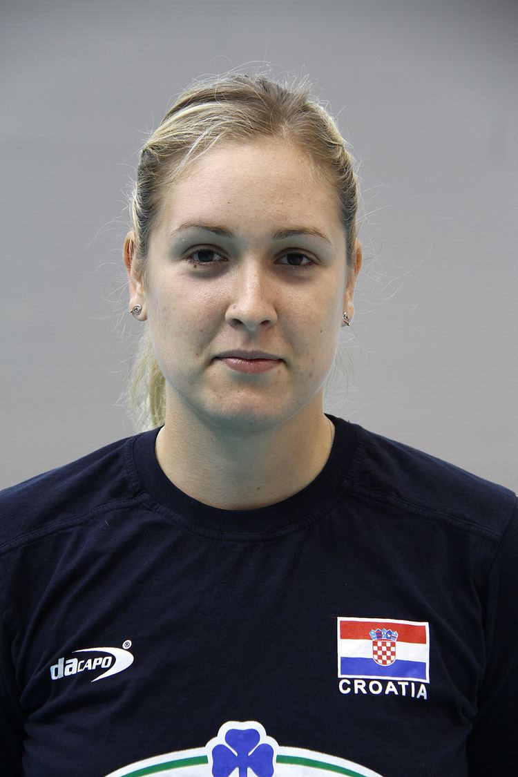Ana Grbac Ana Grba Croatia women39s national volleyball team Photo