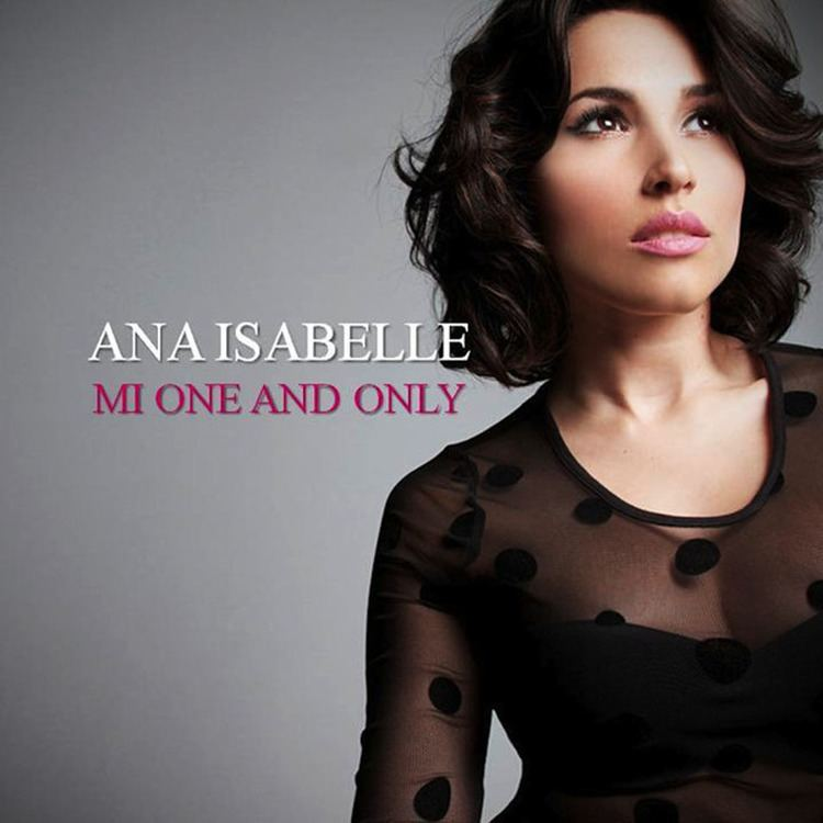 Ana Isabelle Cartula Frontal de Ana Isabelle Mi One And Only Cd