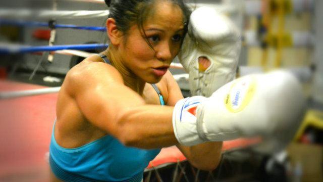 Ana Julaton February 2015 Boxing Jones