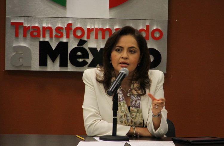 Ana Lilia Herrera Anzaldo CONFERENCIA DE PRENSA ANA LILIA HERRERA ANZALDO