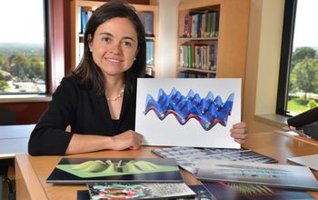 Ana Maria Rey Research models behavior of ultracold atoms and polar