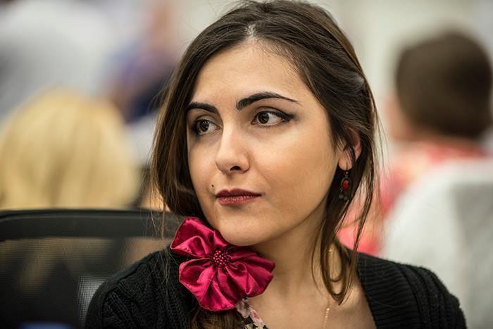 Ana Matnadze noticias Ana Matnadze la ajedrecista espaola del ao chess24com