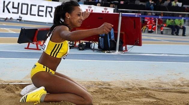 Ana Peleteiro Atletismo Ana Peleteiro revalida su ttulo en triple