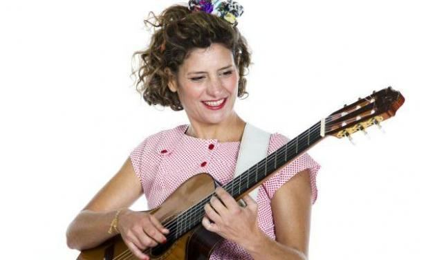Ana Prada Ana Prada estrena show infantil con la cantante espaola