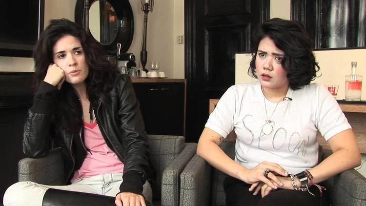 Ana Rezende Cansei de Ser Sexy CSS interview Lovefoxxx and Ana
