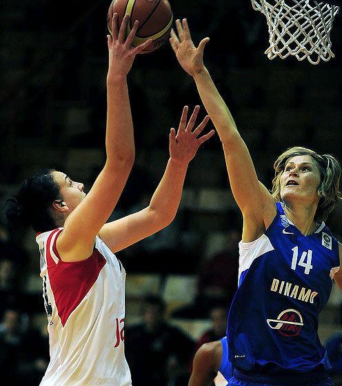 Ana Semren Ana Semren EuroLeague Women 2014 FIBA Europe