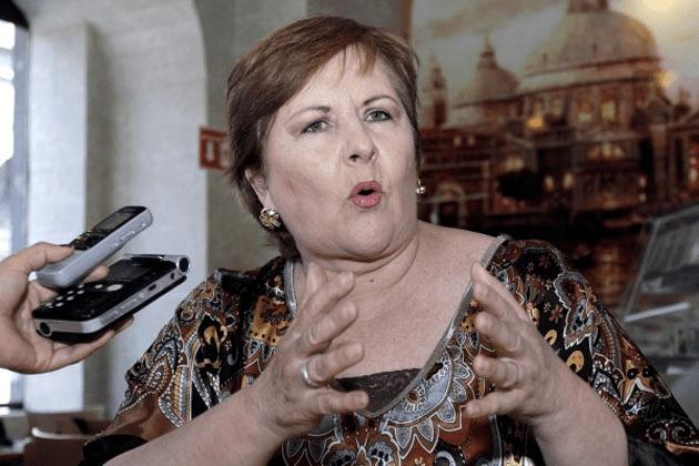 Ana Teresa Aranda POLTICARoban casa de Ana Teresa Aranda extraen