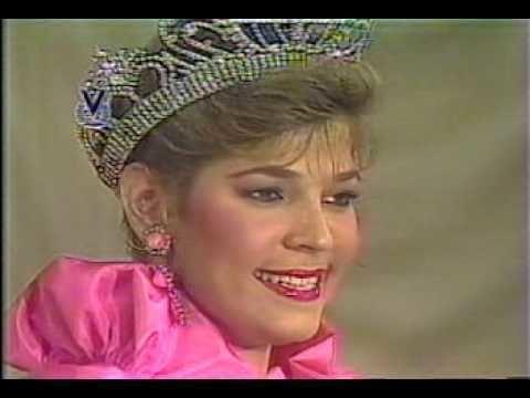 Ana Teresa Oropeza ANA TERESA OROPEZA SE DESPIDE COMO MISS VENEZUELA 1982 YouTube