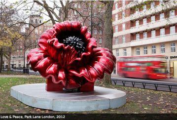 Ana Tzarev Ana Tzarev Love Peace Blooms Around the World