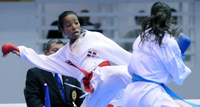 Ana Villanueva Ana Villanueva a karate athlete wins the 3rd gold for