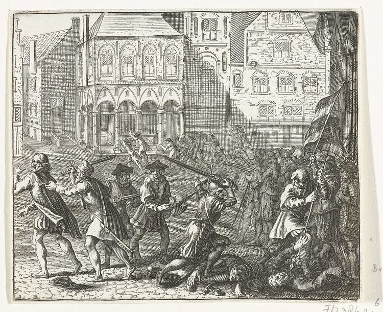 Anabaptist riot