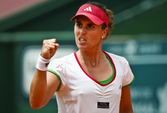 Anabel Medina Garrigues Estoril Open A ladies semifinals report Tennis Grandstand