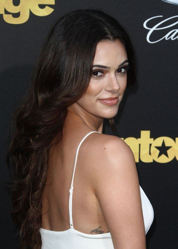 Anabelle Acosta Wiz Khalifa Brings Rumored Girlfriend To Entourage Film