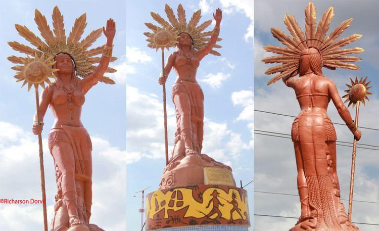Anacaona Taina Warrior Chief of Xaragua Anacaona from HispaniolaHaiti