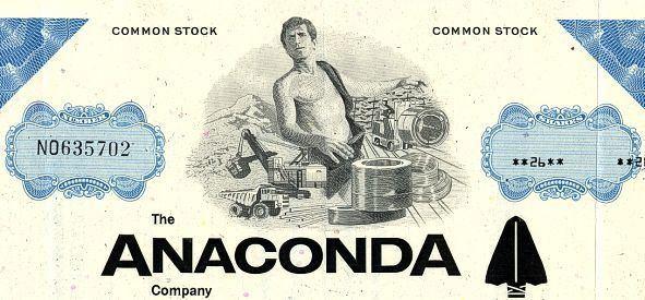 Anaconda Copper wwwscripophilycomwebcartvigsanacondavig1jpg