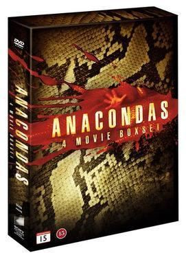 Anaconda (film series) movie poster