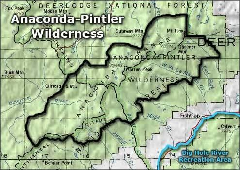 Anaconda-Pintler Wilderness AnacondaPintler Wilderness Montana National Wilderness Areas