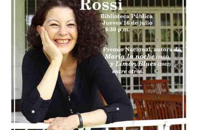 Anacristina Rossi Anacristina Rossi Encuentros con escritores nacionales Sistema de