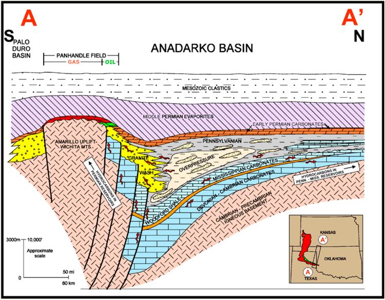 Anadarko Basin The Anadarko Basin makes Oklahoma Oil amp Gas more than OK Drillinginfo