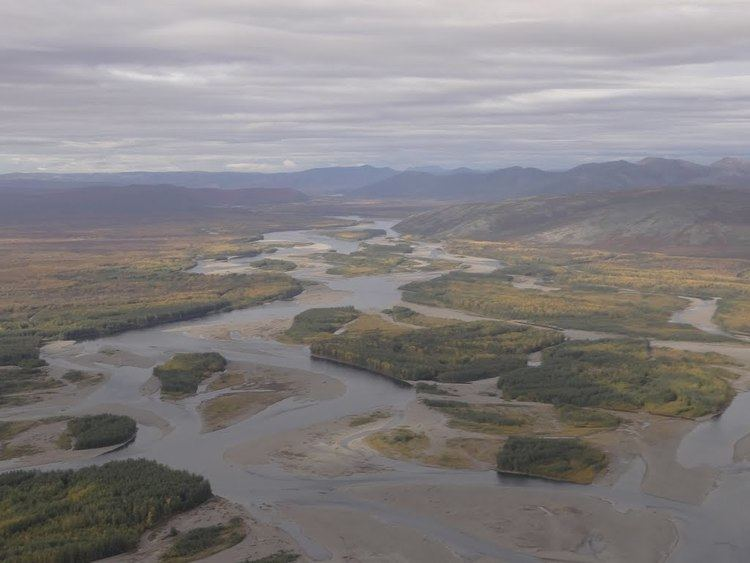 Anadyr River Panoramio Photo of The valley of the Anadyr river