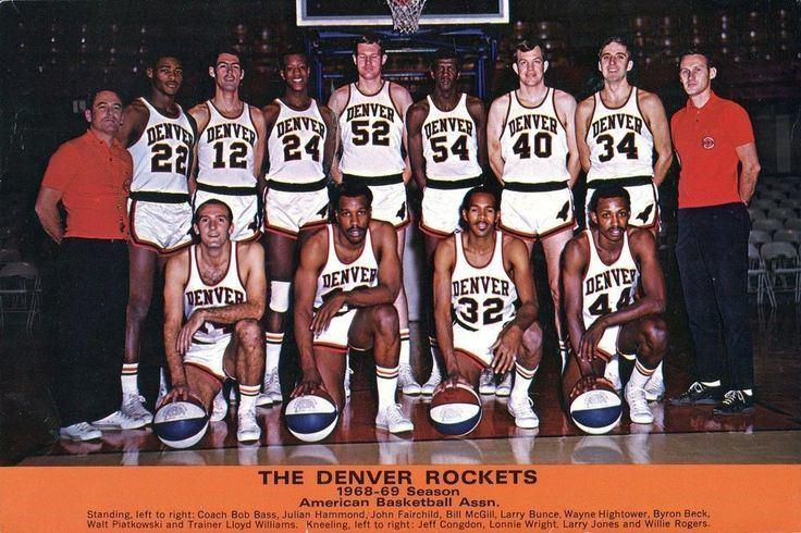 Anaheim Amigos Anaheim Amigos Jersey American Basketball Association Players