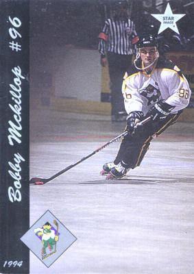 Anaheim Bullfrogs Anaheim Bullfrogs 199394 Hockey Card Checklist at hockeydbcom