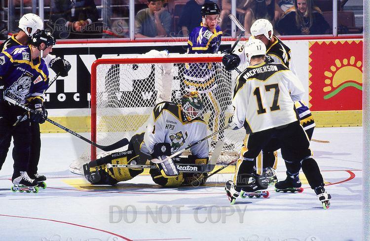 Anaheim Bullfrogs RHI Roller Hockey International Photographer Shelly Castellano SCPIX