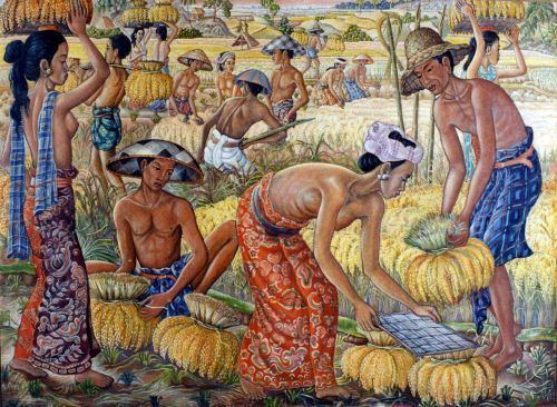 Anak Agung Gde Sobrat Indonesian Visual Art Archive KaryaKarya Anak Agung Gde