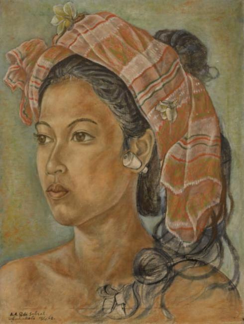 Anak Agung Gde Sobrat BALINESE FINE ART Anak Agung Gde Sobrat 19121992