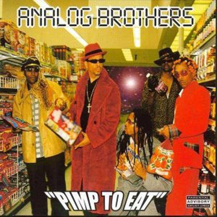 Analog Brothers Analog Brothers Black Silver The Navigator
