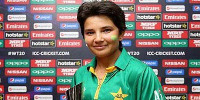 Anam Amin Anam Amin selected in the ICC Women World T20 Team HTV