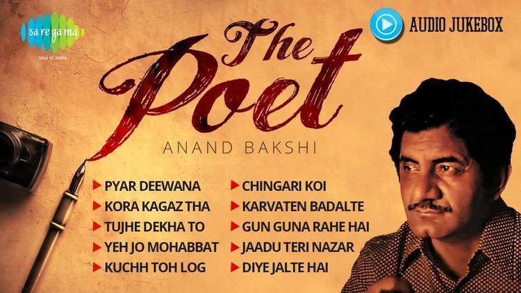 Anand Bakshi Best of Anand Bakshi Best Old Hindi Songs Jukebox Pyar Deewana
