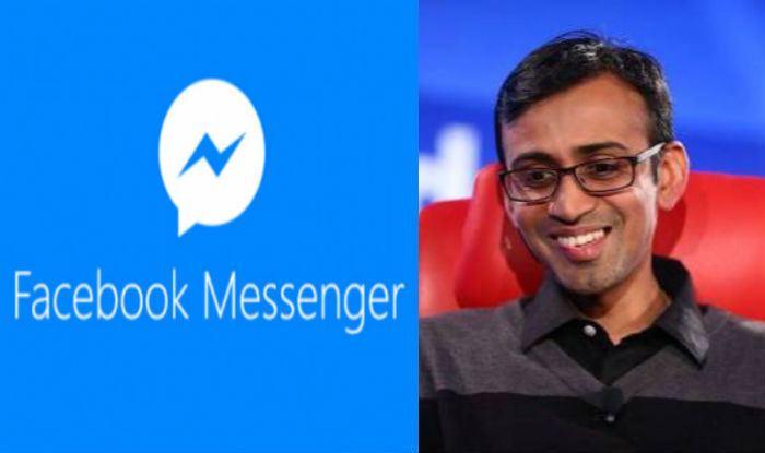 Anand Chandrasekaran Facebook ropes in Anand Chandrasekaran for Messenger app Indiacom