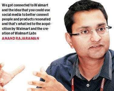 Anand Rajaraman Meet Anand Rajaraman helping Walmart change the way it