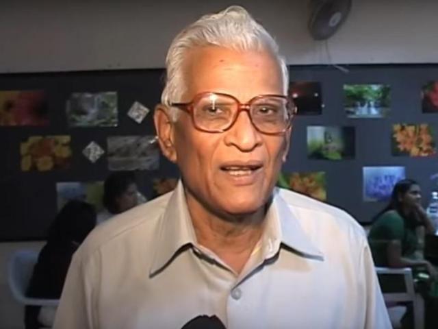 Anand Yadav Marathi litterateur Natrang novelist Anand Yadav dies at 80