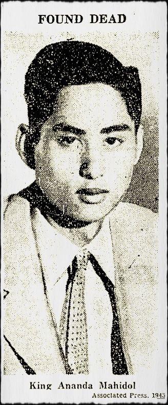 Ananda Mahidol The Death of King AnandaAndrew MacGregor Marshall FACT