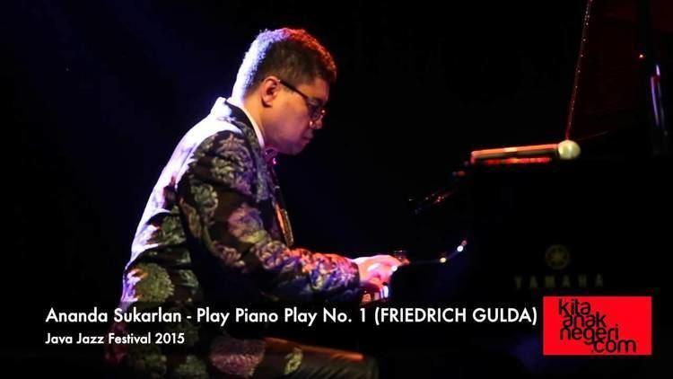 Ananda Sukarlan Ananda Sukarlan Play Piano Play no1 Friedrich Gulda Java Jazz