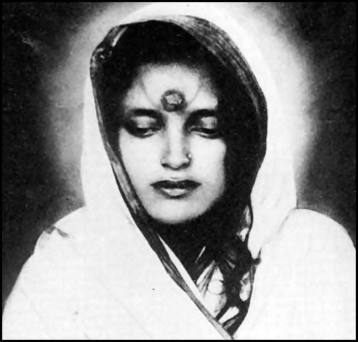 Anandamayi Ma Anandamayi Ma The Blissful Mother Sathya Sai Baba