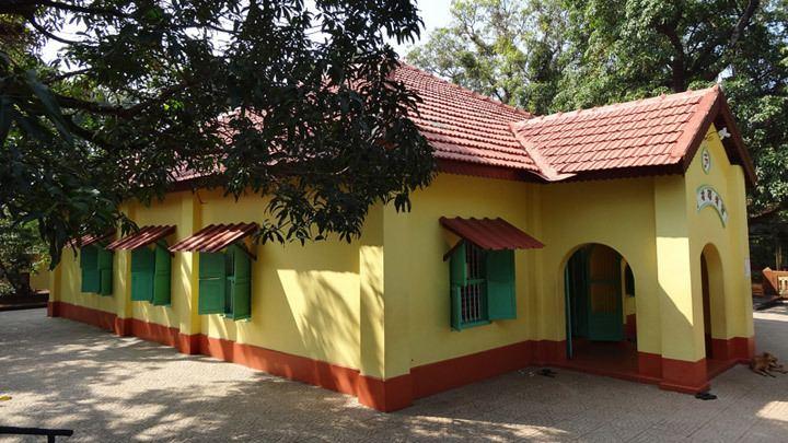 Anandashram, Kanhangad Anandashram at Kanhangad near Bekal Kasaragod Kerala Tourism