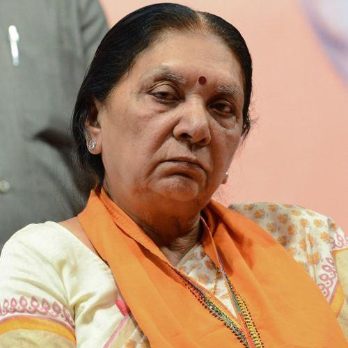 Anandiben Patel Anandiben Patel sworn in as the Gujarat39s first woman