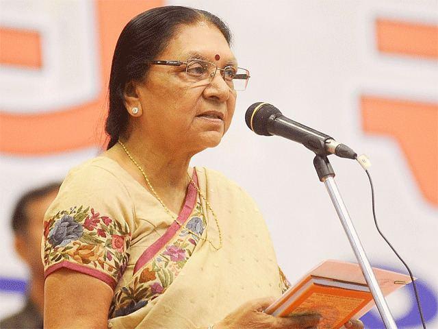 Anandiben Patel New Gujarat CM The rise and rise of Anandiben Patel