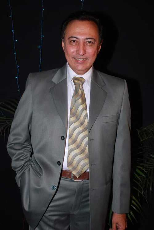 Anang Desai Anang Desai at GR8 Indian Television Academy Awards 2009